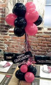 Graduation Balloon Centerpiece, by Balloonopolis, Columbia, SC