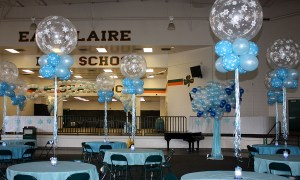 Frozen Wonderland Centerpieces for Prom, by Balloonopolis, Columbia, SC
