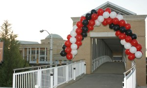 Outdoor Helium Balloon Arch, by Balloonopolis, Columbia, SC - Gallery