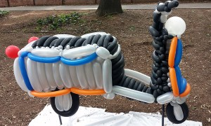 Balloon Scooter, by Balloonopolis, Columbia, SC