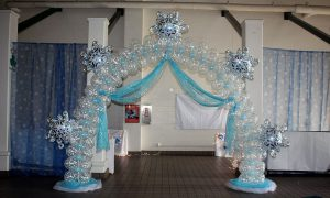 Frozen balloon arch, by Balloonopolis, Columbia, SC - Gallery