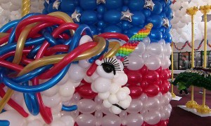 Balloon unicorn, State Fair of Florida, by Balloonopolis, Columbia, SC - Gallery