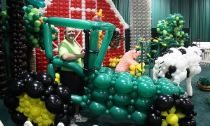 State Fair of SC, balloon tractor, by Balloonopolis, Columbia, SC
