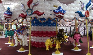 Balloon carousel, State Fair of Florida, by Balloonopolis, Columbia, SC