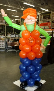 Home Depot's Homer Balloon Greeter, by Balloonopolis, Columbia, SC - Balloon Greeters