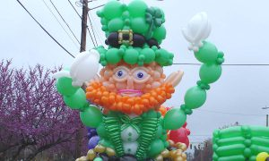 Giant Balloon Leprechaun, by Balloonopolis, Columbia, SC - Gallery