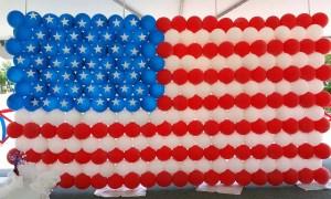 Balloon American Flag, by Balloonopolis, Columbia, SC