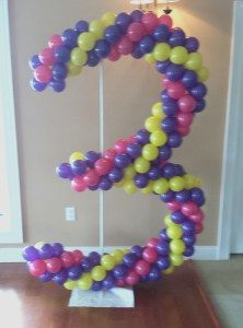 balloon spiral 3, by Balloonopolis, Columbia, Sc