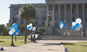 Balloons on the Statehouse lawn, by Balloonopolis, Columbia, SC