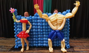 Balloon Beachgoers Costume, by Balloonopolis, Columbia, SC