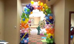 Candy Balloon Arch, by Balloonopolis, Columbia, SC - Balloon Arches