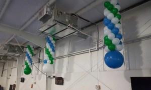 Hanging Balloon Columns, by Balloonopolis, Columbia, Sc - Balloon Columns