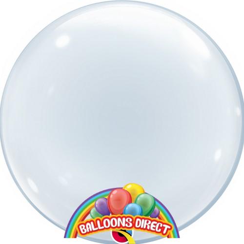 "custom 22"" plain bubble balloon from balloons direct"