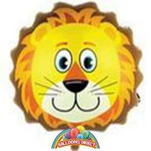 lion head foil balloon
