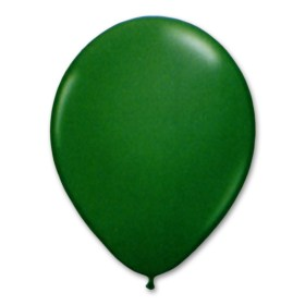 Festive Green Latex Party Balloon 12 inch from Balloon Shop NYC