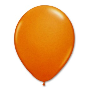 Orange Latex Party Balloon 12 inch from Balloon Shop NYC