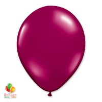 Sparkling Burgundy Latex Party Balloon 12 inch Inflated delivery Balloon Shop NYC