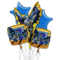 Batman Birthday Balloon Bouquet Inflated from Balloon Shop NYC