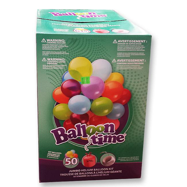 Helium Tank and Latex Balloons Kit Large - Balloon Shop NYC
