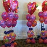 I Love You Hearts Latex Balloons Original Design