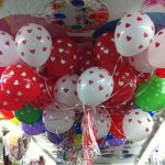 Hearts and Polka Dots Latex Printed Balloon Bouquet