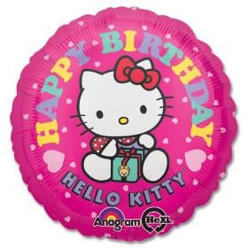 Hello Kitty Birthday Mylar Balloon from Balloon Shop NYC