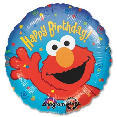 Elmo Happy Birthday Mylar Balloon from Balloon Shop NYC