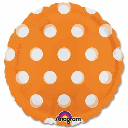 Orange Dots Magicolor Party Balloon from Balloons Shop NYC