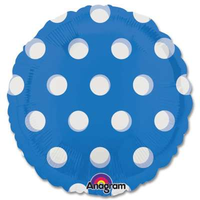 Blue Dots Magicolor Party Balloon from Balloons Shop NYC