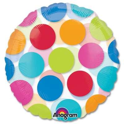 Cabana Dots Party Balloon from Balloons Shop NYC