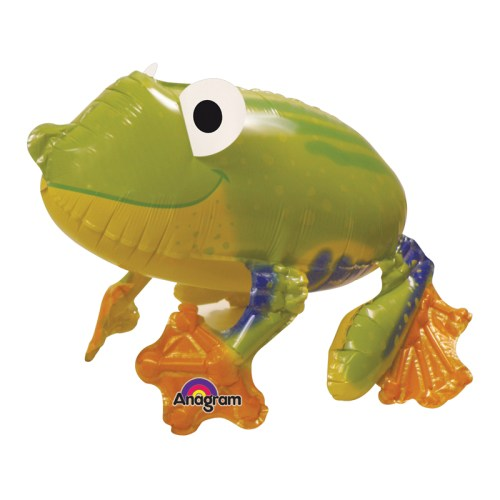 Friendly Froggy Airwalker Balloon Buddies from Balloon Shop NYC