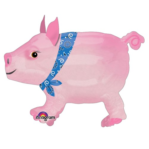 Precocious Pig Airwalker Balloon Buddies from Balloon Shop NYC