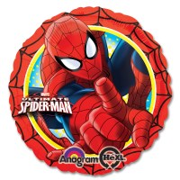 Ultimate Spider-Man Marvel Mylar Party Balloon from Balloon Shop NYC