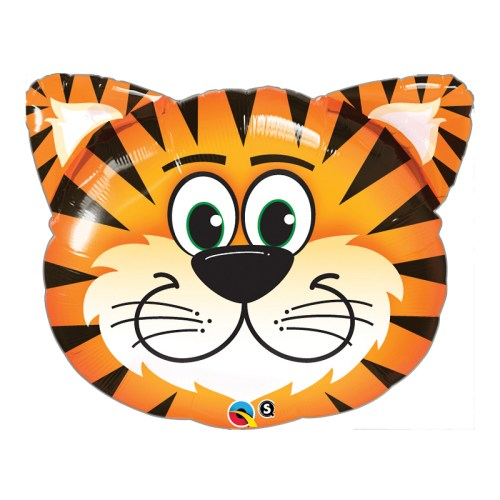 Tiger Foil Mylar Balloon from Balloon Shop NYC