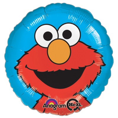 Sesame Street Elmo Portrait Mylar Balloon from Balloon Shop NYC