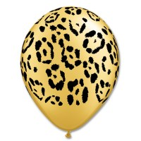 Leopard Spots Printed Latex Balloon from Balloon Shop NYC