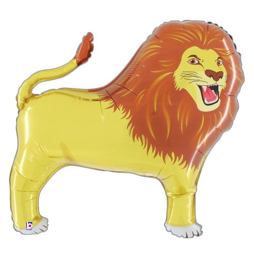 Lion Foil Mylar Balloon from Balloon Shop NYC