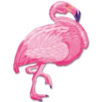 Flamingo Foil Mylar Balloon from Balloon Shop NYC