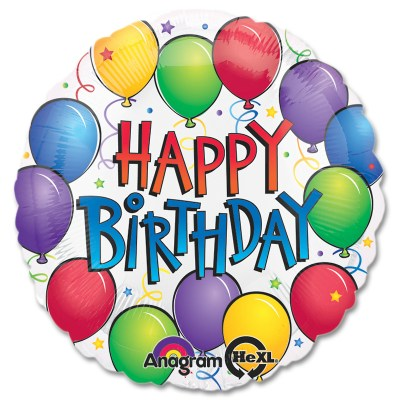 Balloon Fun Birthday Mylar Balloon from Balloon Shop NYC