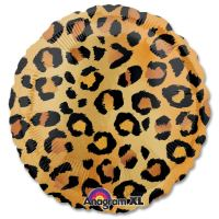 Cheetah Pattern Mylar Party Balloon from Balloons Shop NYC