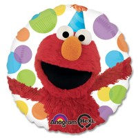 Elmo Birthday Mylar Party Balloon From Balloon Shop NYC