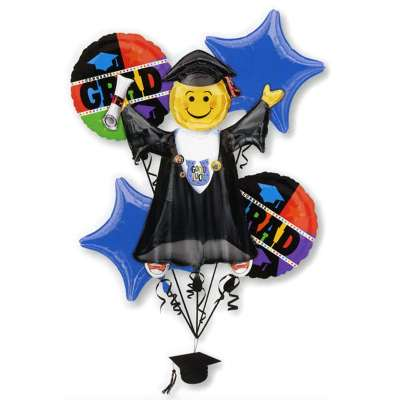 Grads Balloons Bouquet from Balloons Shop NYC
