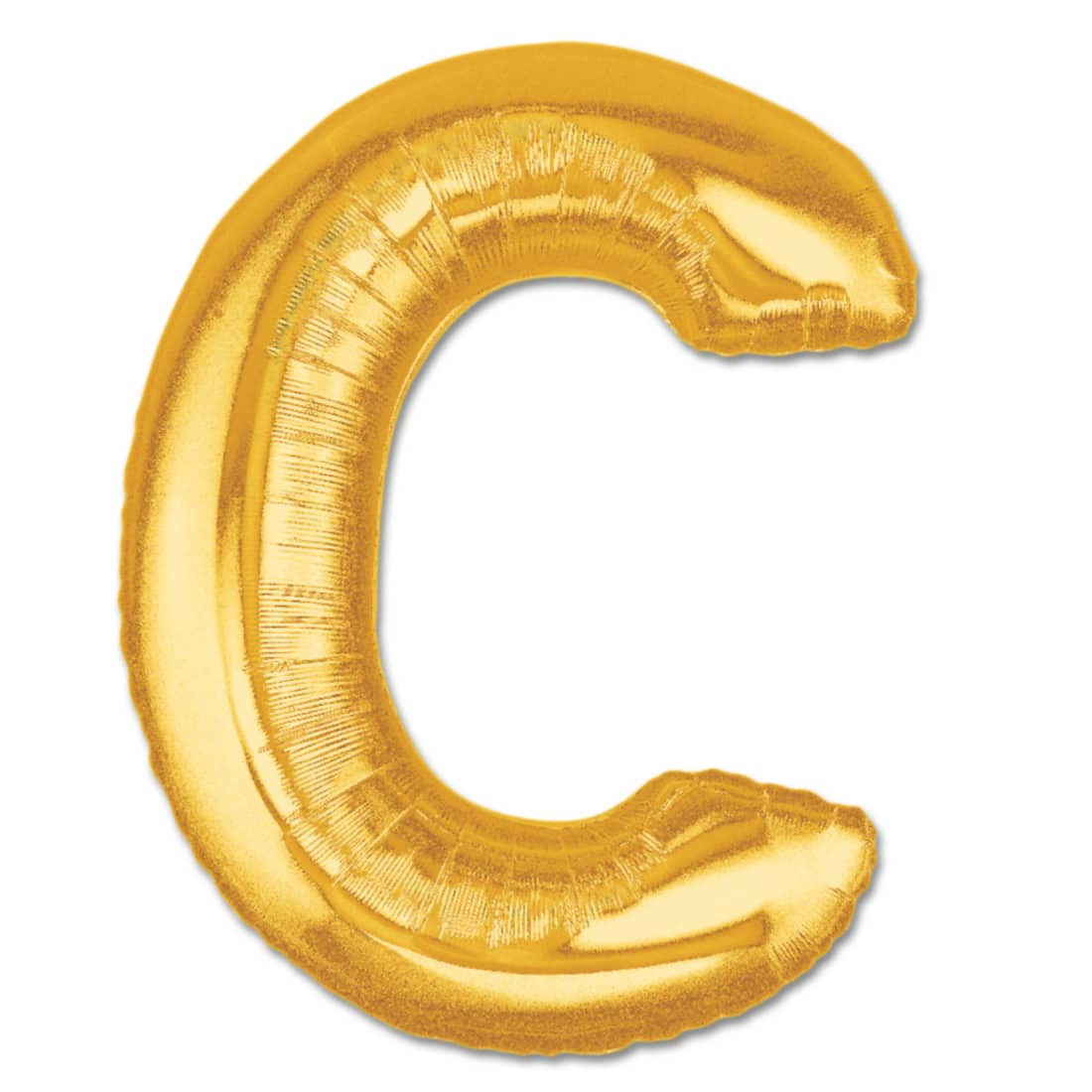 jumbo foil gold 40 inch letter c balloon from balloons shop nyc