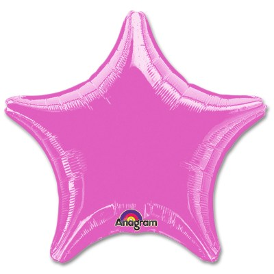 Metallic Lavender Star Solid Color Foil Party Balloon 19 inch from Balloon Shop NYC