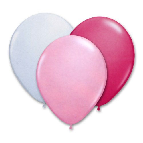 Ultimate Pink Latex Party Balloons 12 inch from Balloon Shop NYC