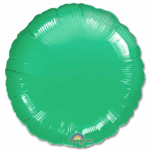 Wintergreen Circle 18 Mylar Party Balloon from Balloons Shop NYC