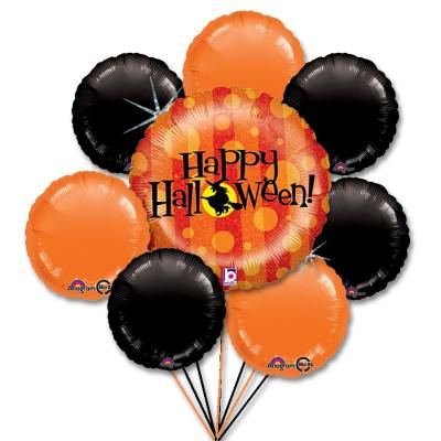 Halloween Haunted Party Balloon Bouquet Inflated from Balloons Shop NYC