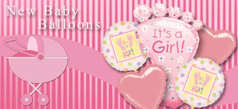 New Baby Balloons Collection