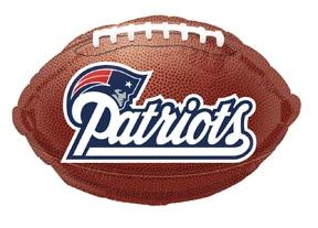New Ingland Patriots Football - 18 inch from Balloon Shop NYC