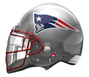 New Ingland Patriots Helmet - 32 inch from Balloon Shop NYC